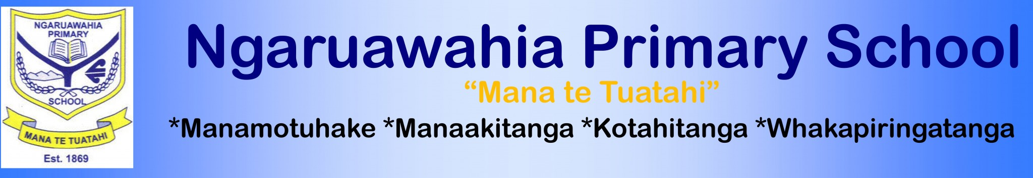 Ngaruawahia Primary School Logo